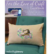 Embroidery Library - For the Love of Craft Lookbook