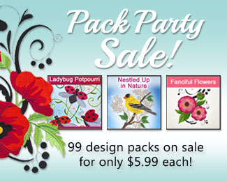 Pack Party Sale! 99 packs on sale for $5.99 each!