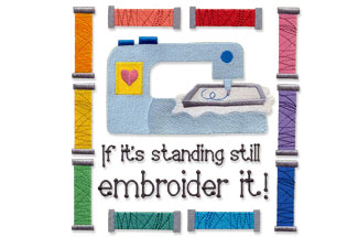Select vintage designs for machine embroidery are on sale for only $1.16 each!