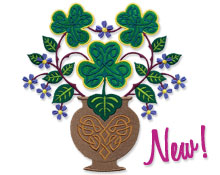 New flowers from around the world machine embroidery designs!