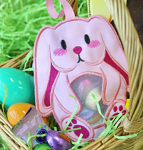 Easter Bunny Candy Holders In-the-Hoop