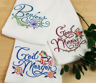 New requested machine embroidery designs are only $1 each!