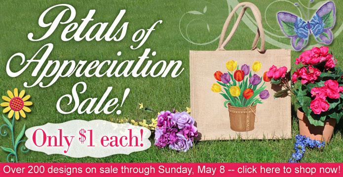 Petals of Appreciation $1 Sale!