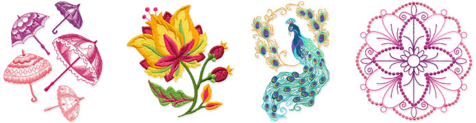 New Antique Boutique machine embroidery designs are only $1.16 each!