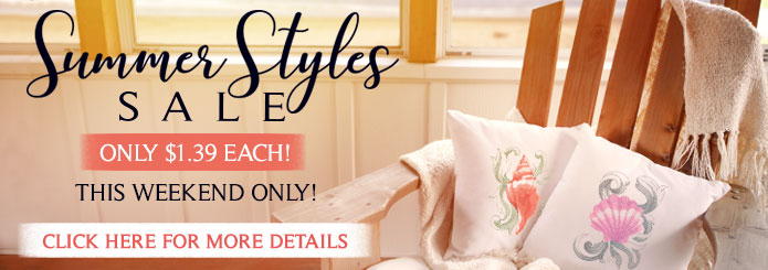 Summer Styles Sale: Only $1.39 each!