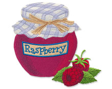 New canning designs for machine embroidery are only $1.00 each!