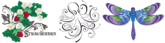 New requested machine embroidery designs are only $1.00 each!