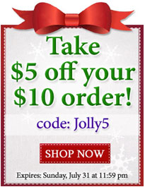 Take $5 off your $10 order with a storewide coupon at Embroidery Library!