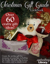 New Christmas Gift Guide Lookbok at Embroidery Library!