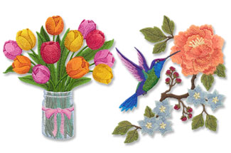 Select designs for machine embroidery are on sale for only $1.25 each!