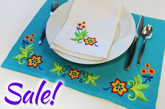 Select border and cornder machine embroidery designs are on sale for only $1.25 each!