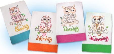 New requested designs for machine embroidery are only $1.25 each!