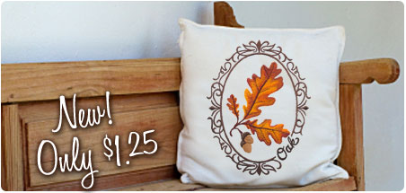New embroidery boutique designs for machine embroidery are only $1.25 each!