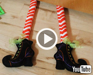 Embroidery Library's new video with instructions for making in-the-hoop boots.