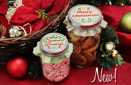 New sweet Christmas designs for machine embroidery are only $1.25 each!