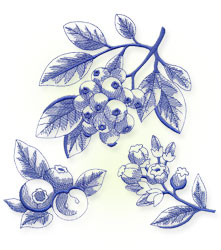New machine embroidery designs are only $1.25 each!