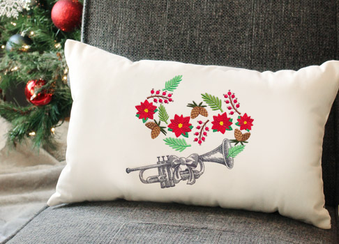 Embroidery Library - Christmas in Bloom Sale!