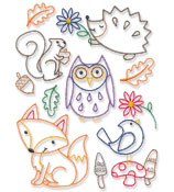 New quick stitching collage designs for machine embroidery are only $1.25 each!