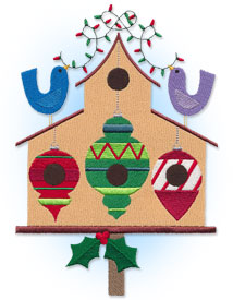 New country Christmas designs for machine embroidery are only $1.25 each!