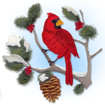 Select Christmas designs for machine embroidery on sale for only $1.25 each!