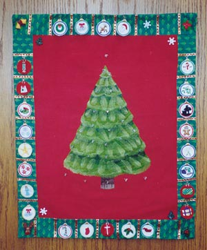 Free Advent Calendar Pattern - Holiday crafts, quality ideas and