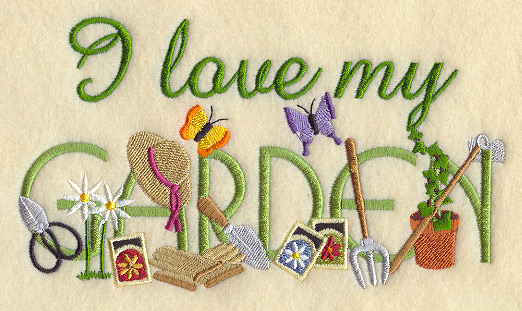 Garden Embroidery Designs live garden machine embroidery designs I Love My Garden