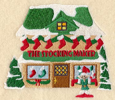 North Pole Stocking Maker