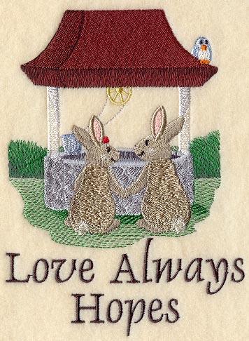 Love Always Hopes - Bunnies