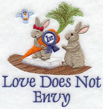 Love Does Not Envy - Bunnies