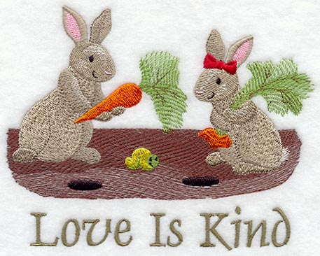 Love is Kind - Bunnies