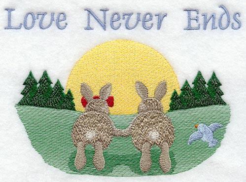 Love Never Ends - Bunnies