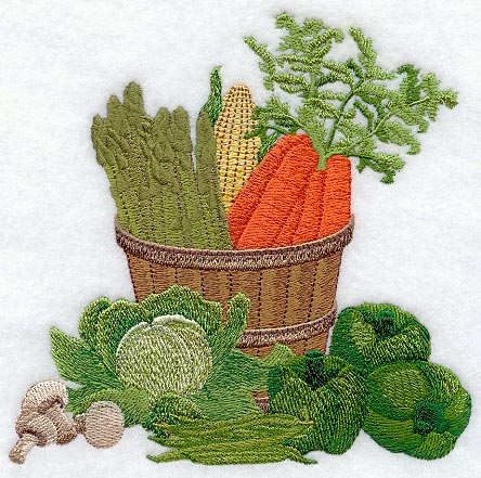 Country Vegetable Basket