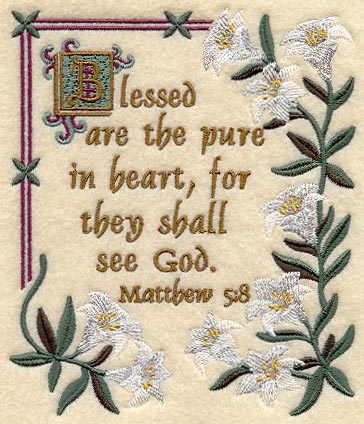 Machine Embroidery Designs at Embroidery Library! - Blessed are ...