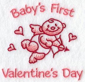 babys first valentines day - First Valentines Day