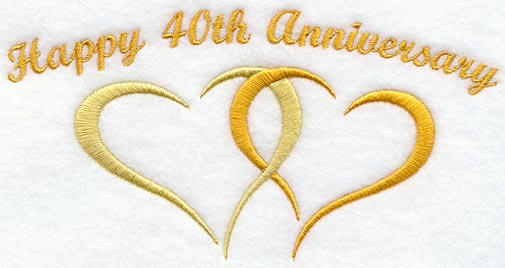 Wedding Gifts For 40 Years : wedding anniversary gift ideas for parents 40th wedding anniversary ...