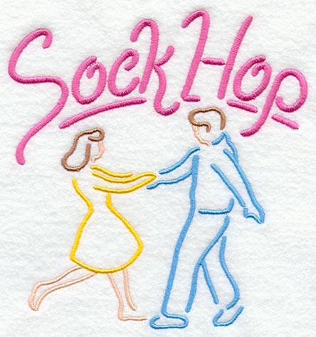 Sock Hop Neon Sign