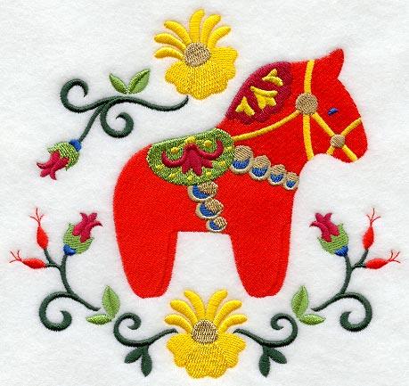 scandinavian machine embroidery designs