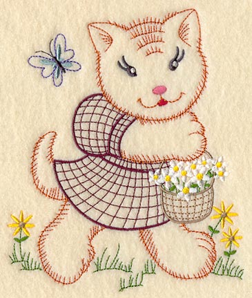 Baby animal embroidery patterns vintage memes