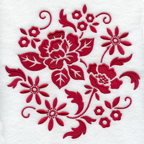 Applique embroidery designs for bed sheets www imgarcade com - Gallery For Gt Cool Red Circle Designs