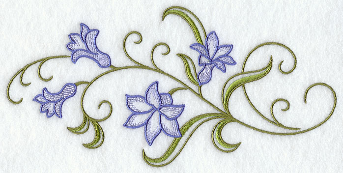 Floral Pillow Case Designs: Machine Embroidery Designs at Embroidery Library!   Embroidery Library,