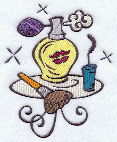 Embroidery Library Lipstick Designs