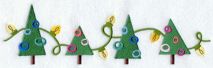 Image result for christmas tree border