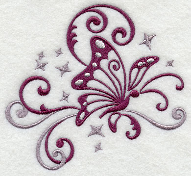 Interior Beautiful Designs machine embroidery designs at library fluttering filigree butterfly 1
