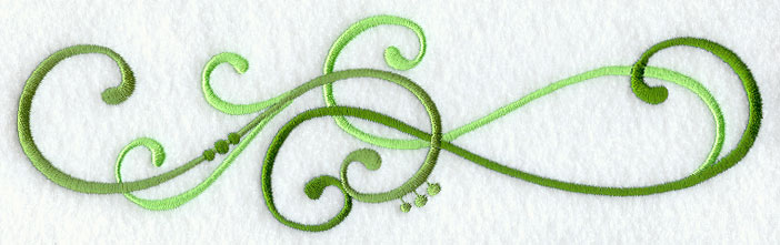 Machine embroidery designs at embroidery library embroidery library capella swirl border altavistaventures Images