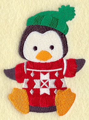 Machine Embroidery Designs at Embroidery Library! - Polly Penguin