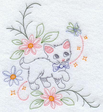 Sweet Dreams Kitty Corner - Facing Right