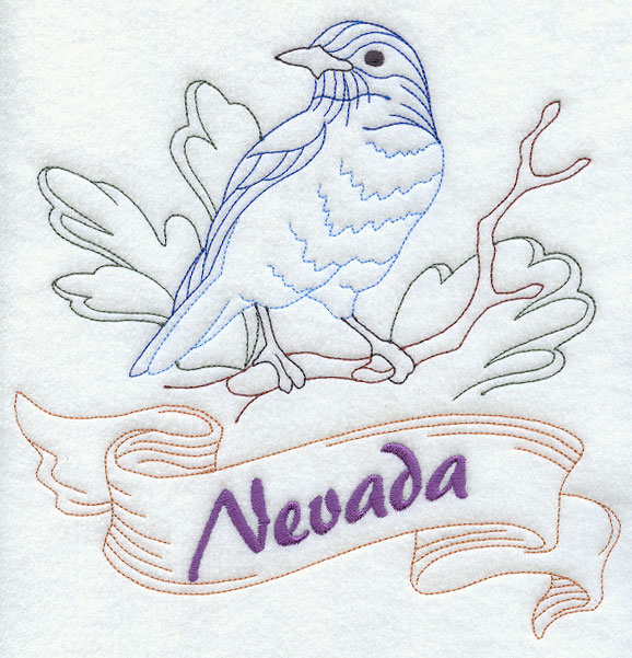 Nevada State Bird Coloring Page Memes