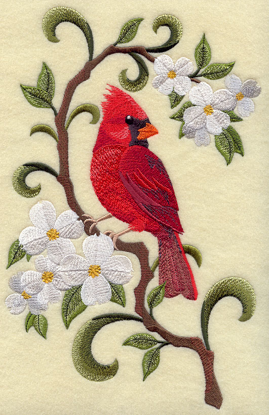 north carolina virginia cardinal and dogwood medley
