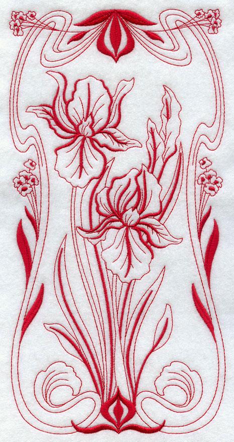 Art Nouveau Flower Images a Beautiful Art Nouveau Flower