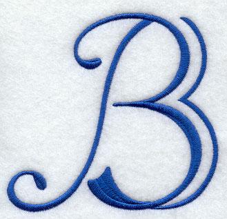 Formal Affair Capital Letter B  B Alphabet Design